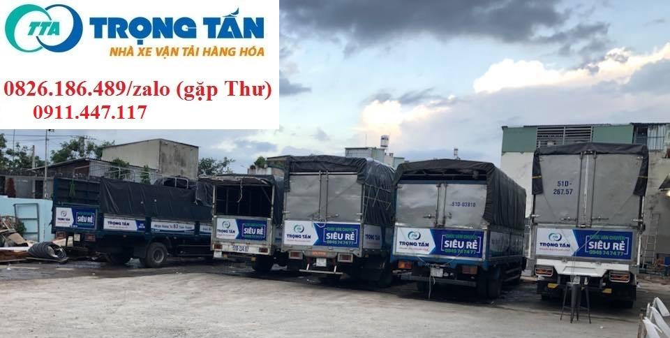 Chành xe vận chuyển hàng hóa Trọng Tấn