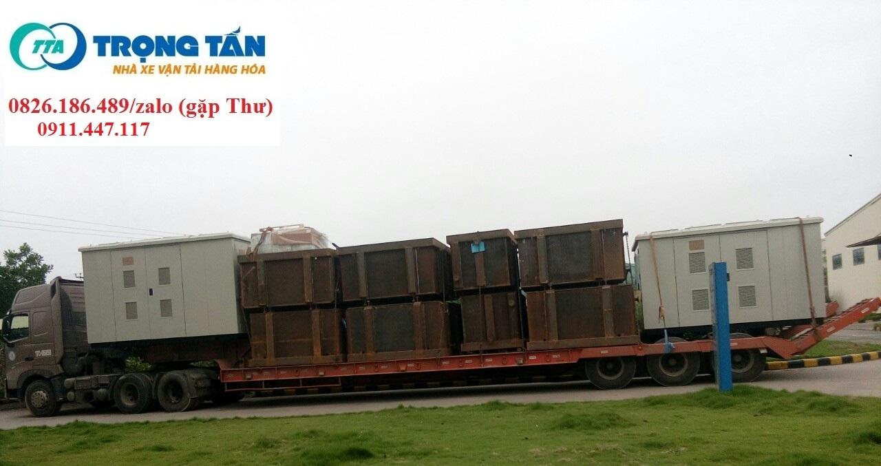 Chành xe vận chuyển hàng quá khổ, quá tải