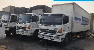 Đội xe chuyển hàng Sài Gòn đi Đà Nẵng