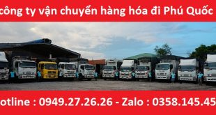 Vận tải hàng hóa Đà Nẵng - Phú Quốc