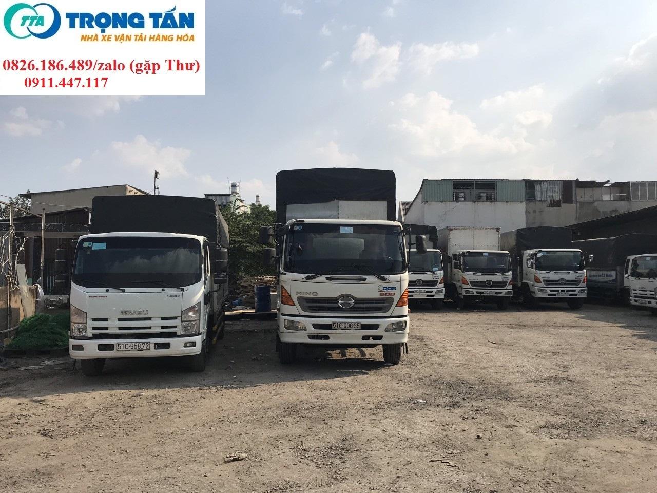 Chành xe ghép hàng đi Kiên Giang