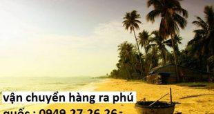 Vận tải hàng hóa Buôn Ma Thuột - Phú Quốc